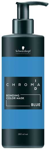 Schwarzkopf Professional Chroma ID Intense Bonding Colour Mask 280 ml Blue