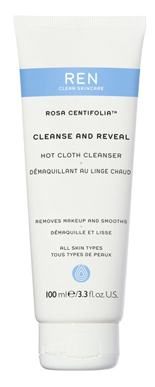REN Rosa Centifolia Cleanse and Reveal Hot Cloth Cleanser 100 ml