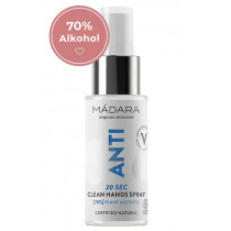 Mádara ANTI 20sec Clean Hands Spray 50 ml