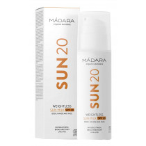 Mádara Sonnenpflege SUN20 Weightless Sun Milk 150 ml