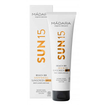 Mádara Sonnenpflege SUN15 Beach BB Shimmering Sunscreen 100 ml