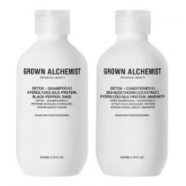 Grown Alchemist Sets & Kits Detox SET (Detox Shampoo 200ml + Detox Conditioner 200ml) 1 Set