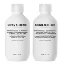 Grown Alchemist Sets & Kits Strenghtening SET (Strenghtening Shampoo 200ml + Strengthening Conditioner 200ml) 1 Set