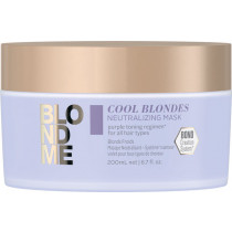 Schwarzkopf Professional BlondMe Cool Blondes Neutralizing Mask 200 ml