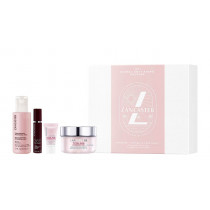 Lancaster Global Anti-Aging SET (Comforting Cleansing Milk 100ml + Youth Renewal Serum 10ml + Anti-Aging Eye Cream SPF 15 - 3ml + Anti-Aging Day Cream 50ml) 1 Set