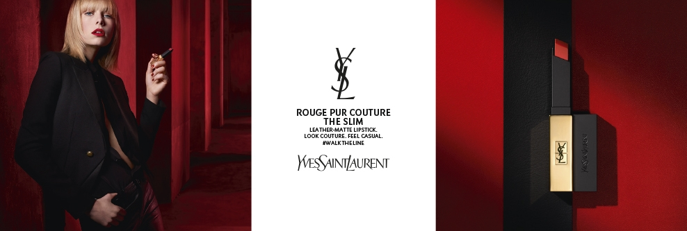Yves Saint Laurent The Slim Lipstick Banner