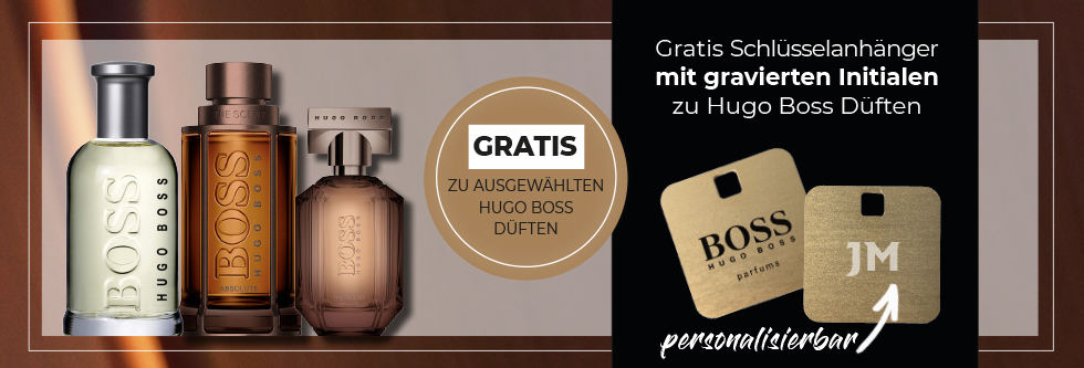 Hugo Boss Gravuraktion