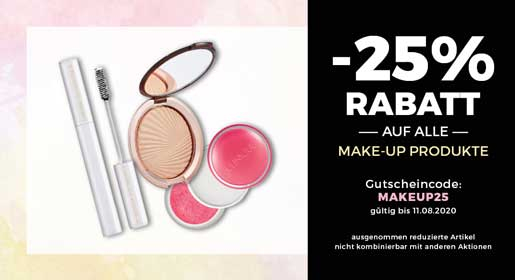 -25% auf alle Make-Up Produkte bei CosmeticExpress
