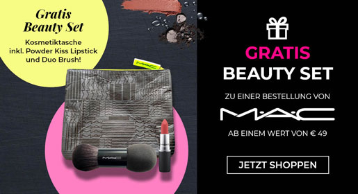 Gratis MAC Beauty Set bei CosmeticExpress