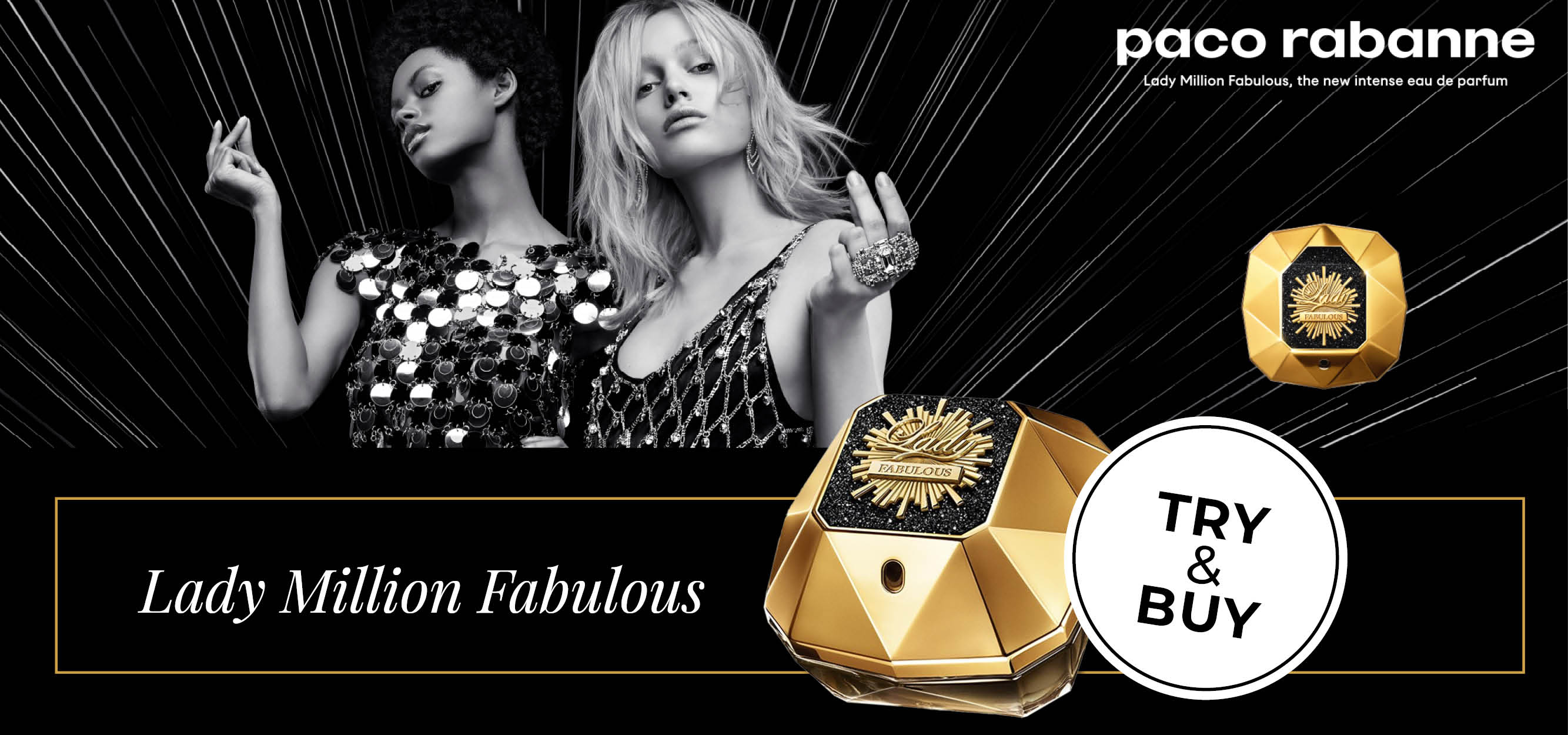 TRY&BUY - Lady Million Fabulous von Paco Rabanne bei CosmeticExpress