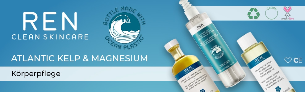 REN Atlantic kelp and Magnesium CosmeticExpress Banner
