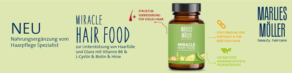 Miracle Hair Food von Marlies Moeller bei CosmeticExpress Banner