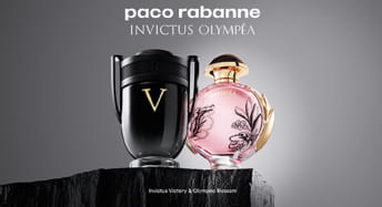 Paco Rabanne Invictus und Olympéa bei CosmeticExpress