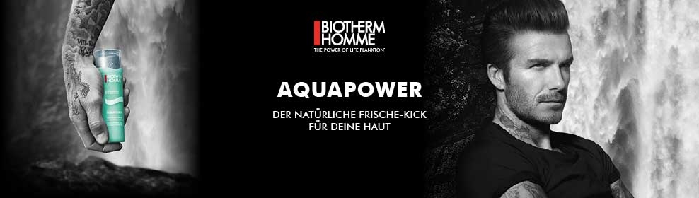 Biotherm Homme Aquapower CosmeticExpress Banner