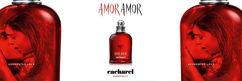 Cacharel Amor Amor Eau de Toilette Augmented Love Banner