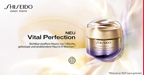 Shiseido Vital Perfection bei CosmeticExpress
