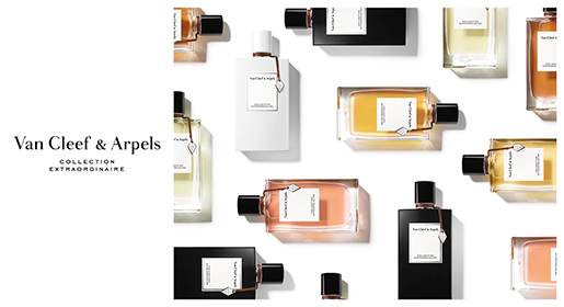 Van Cleef and Arples Collection Extraorinaire Parfums Banner Black Cosmeticexpress